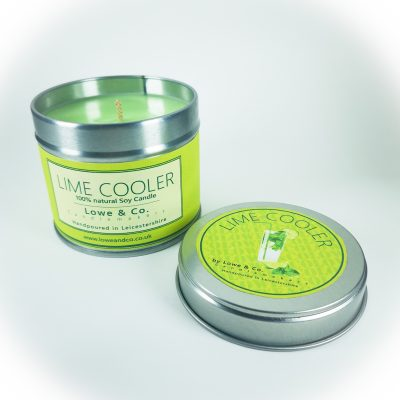 Lime Cooler - Tin Candle