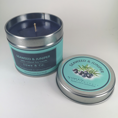 Seaweed & Juniper - Tin Candle