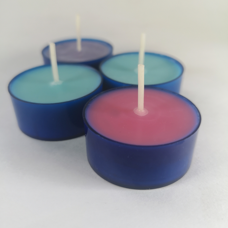 Scented Soy Wax Tea lights Handmade