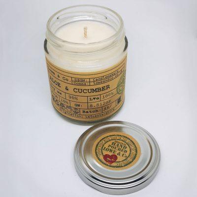Aloe Vera & Cucumber Jar Candle