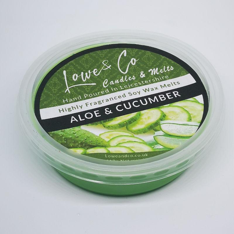 Aloe Vera & Cucumber Wax Melt Pod