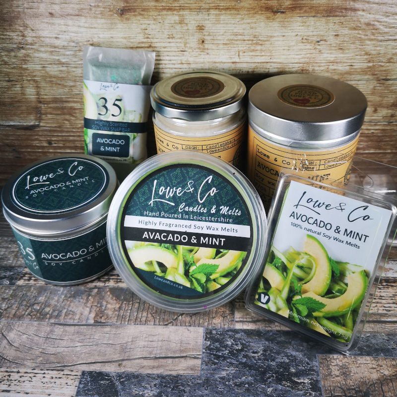 Avocado & Mint Jar Candle