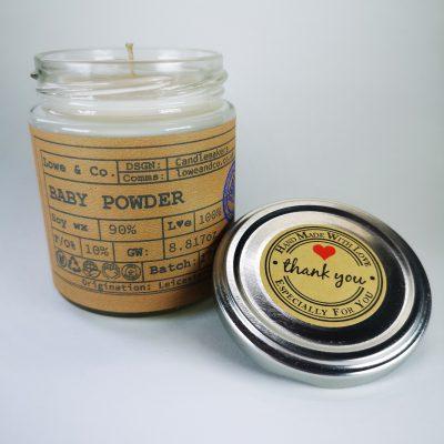 Baby Powder Jar Candle