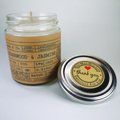 Cedarwood & Jasmine Jar Candle