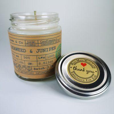 Seaweed & Juniper Jar Candle