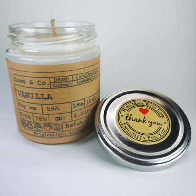 Vanilla Jar Candle