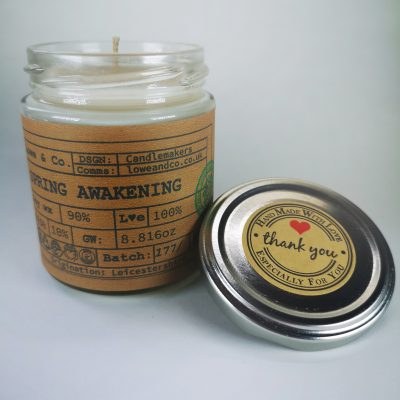 Spring Awakening Jar Candle