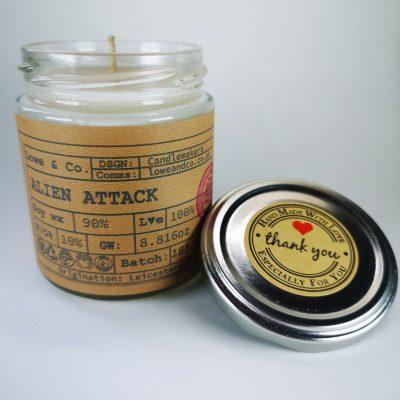 Alien Jar Candle