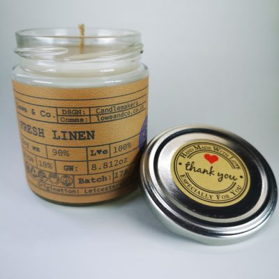 Fresh Linen Jar Candle