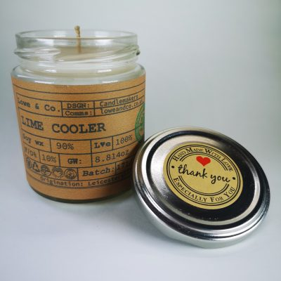 Lime Cooler Jar Candle