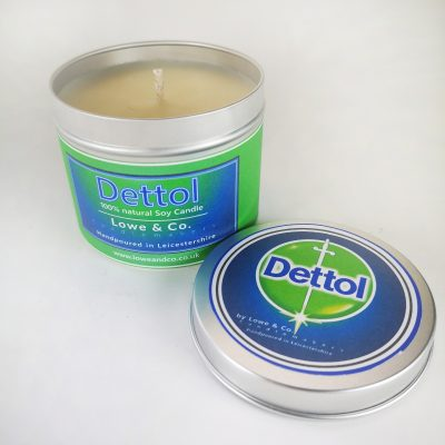 Dettol Tin Candle