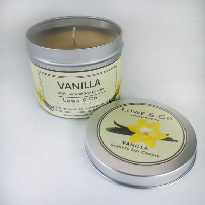 Vanilla Tin Candle