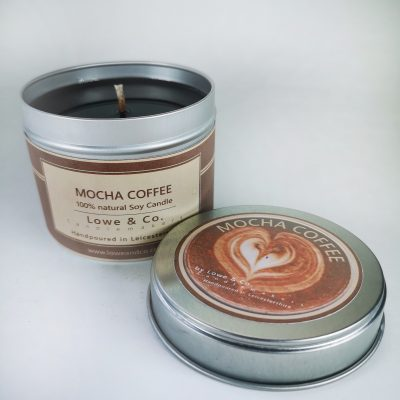 Coffee Mocha Tin Candle
