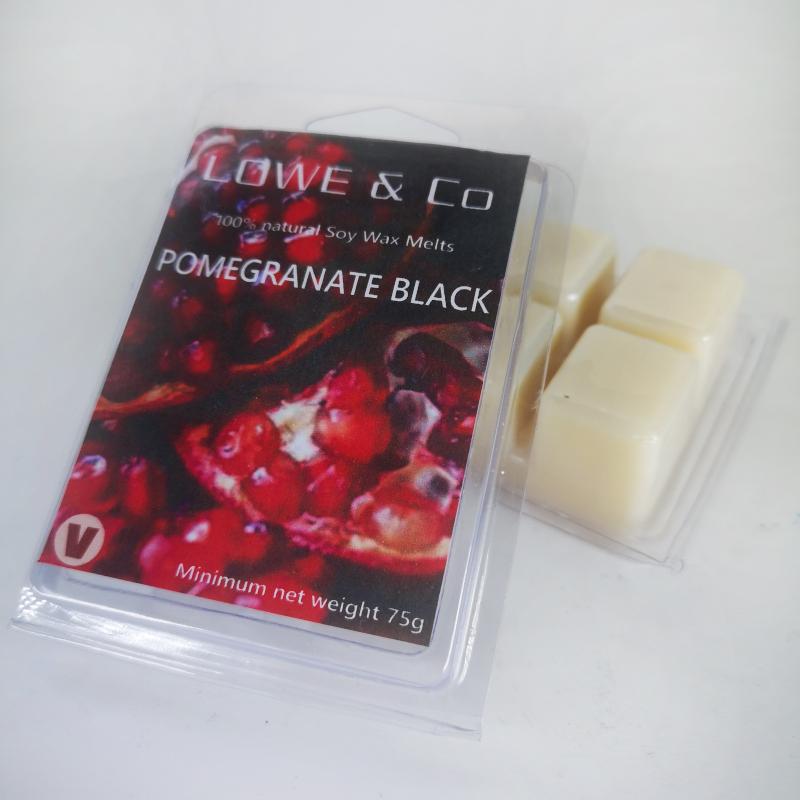 Pomegranate Black Wax Melts