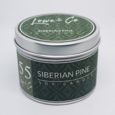 Siberian Pine Travel Candle
