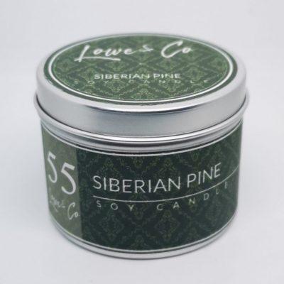 Siberian Pine Travel Candle