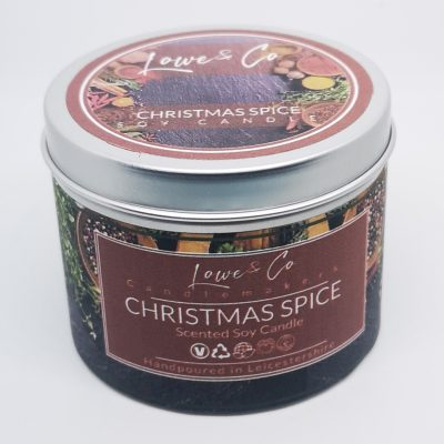 Christmas Spice Soy Tin Candle