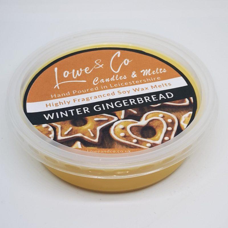 Winter Gingerbread Wax Melt Pod