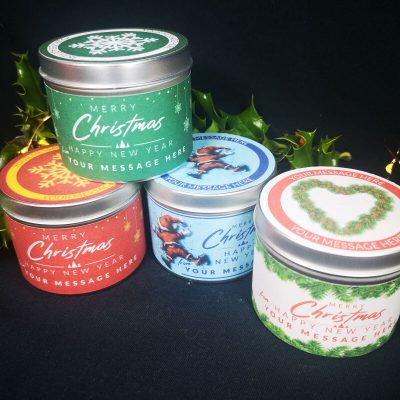 Personalised Soy Candle gifts
