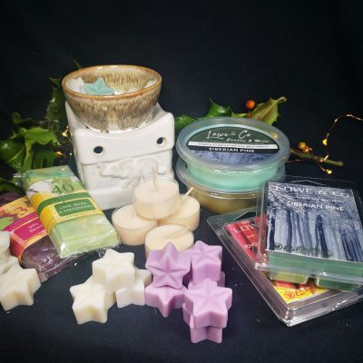 Elephant Wax Burner Gift Set