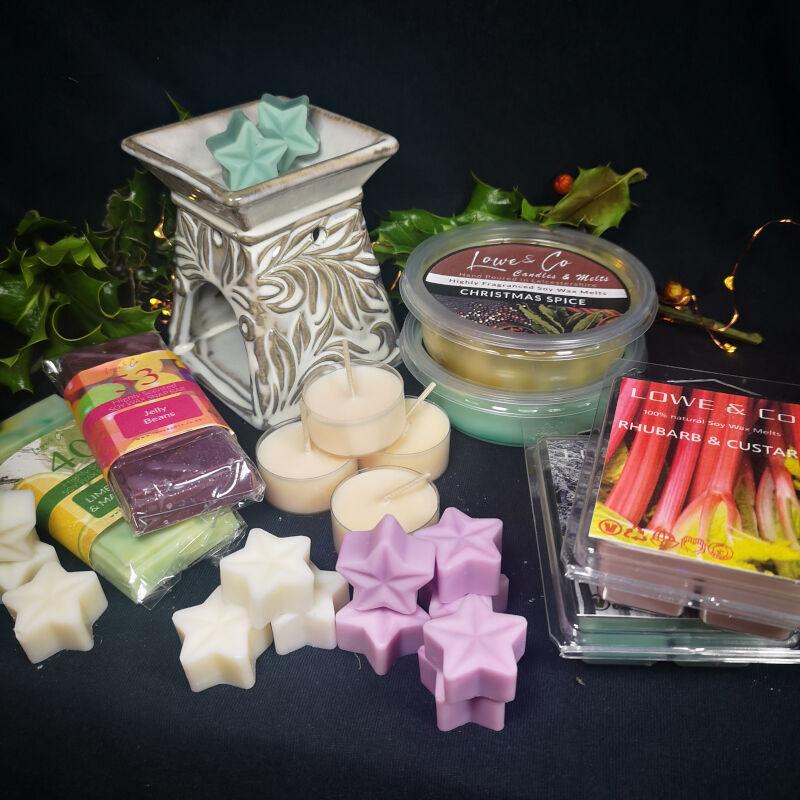 Venetian Wax Burner Gift Set
