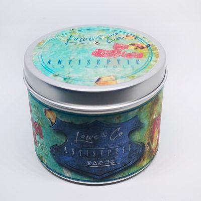 Antiseptic Fragrance Tin Candle.