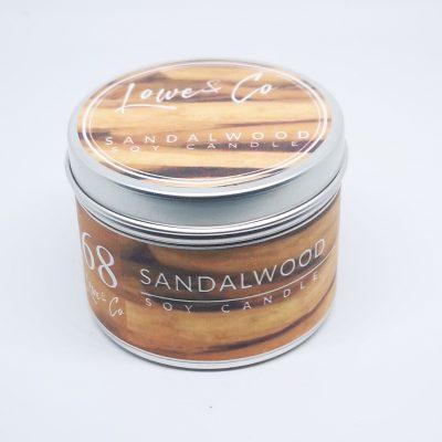Sandalwood Travel candle