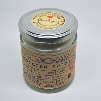 Moroccan Spice Jar Candle