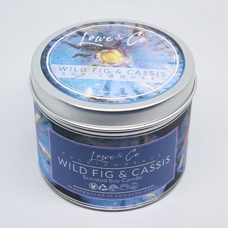 Wild Fig & Cassis Soy Tin Candle