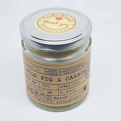Wild Fig & Cassis Jar Candle