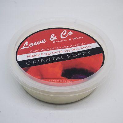 Oriental Poppy 4oz Soy Wax Melt Pod