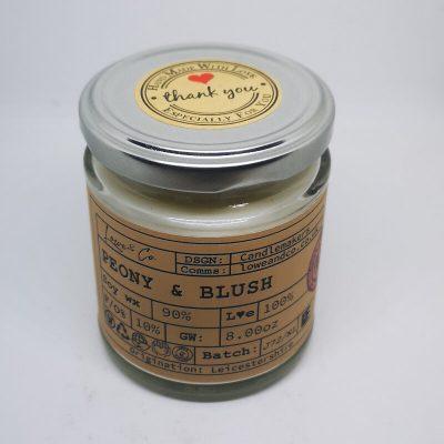 Peony & Blush Jar Candle