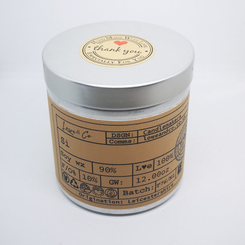 The Lowe & Co Si Soy Tin Candle