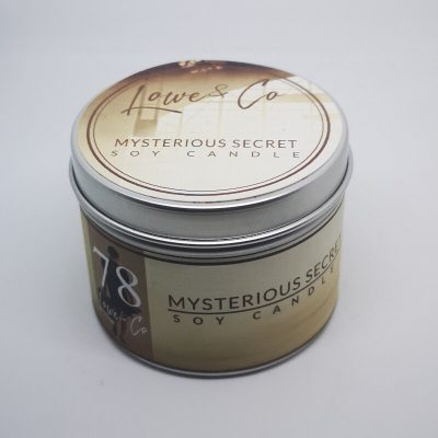 Mysterious Secret Travel candle