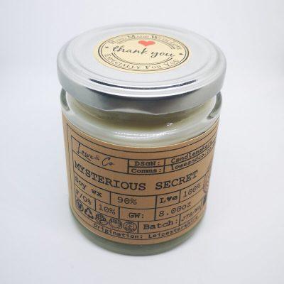 Mysterious Secret Jar Candle