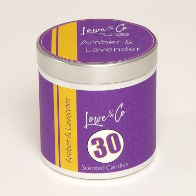 30. Amber & Lavender