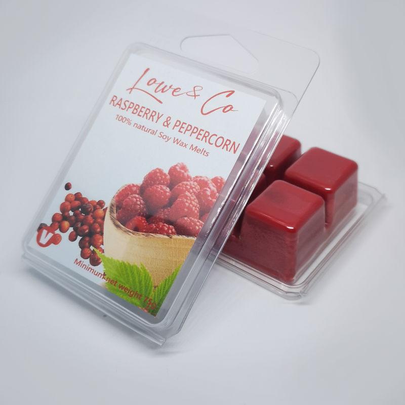 Raspberry & Peppercorn Wax Melts