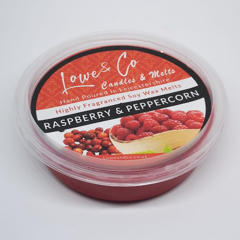Raspberry & Peppercorn Wax Melt Pod