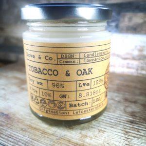 Tobacco & Oak Jar Candle