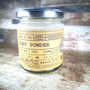 Baby Powder Jar Candle.