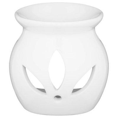 Wax/Oil Burner - White Ceramic