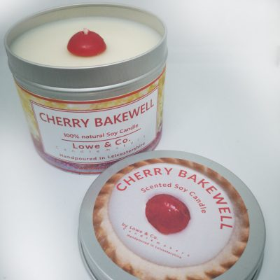 Cherry Bakewell - Tin Candle