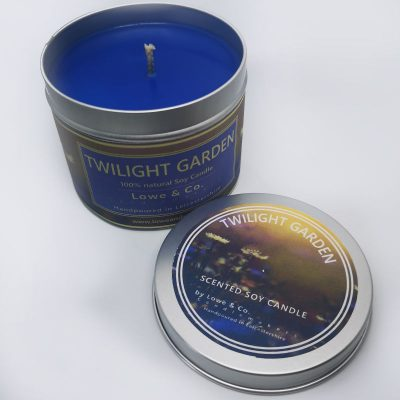Twilight Garden - Tin Candle