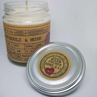 Patchouli & Musk Jar Candle