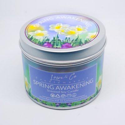 Spring Awakening - Tin Candle