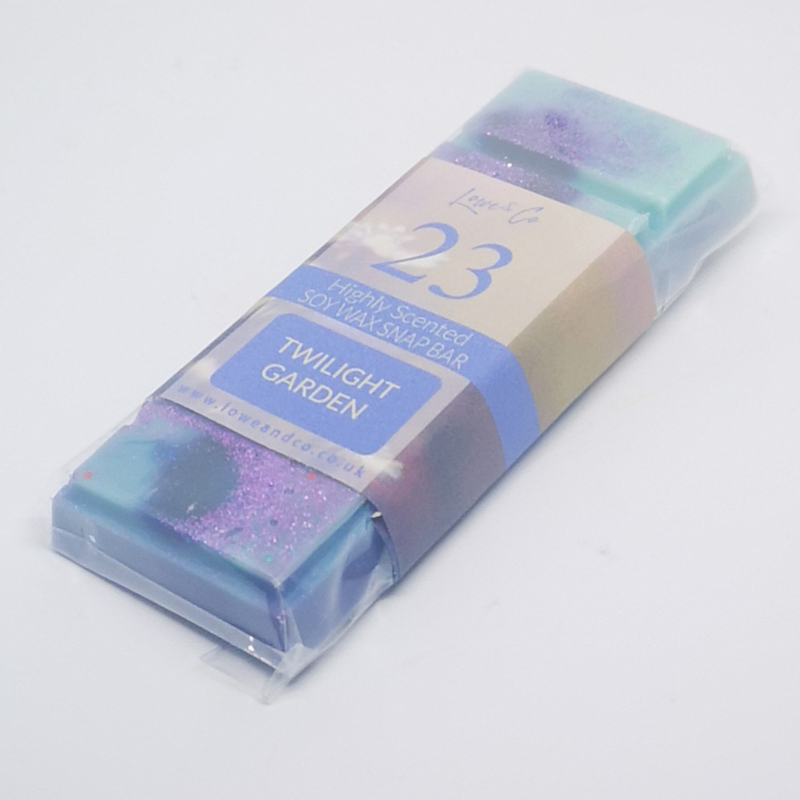 Lowe & Co Soy Wax Snap Bar Highly scented