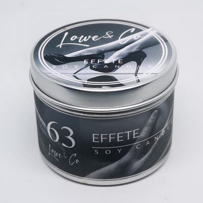 Effete travel candle