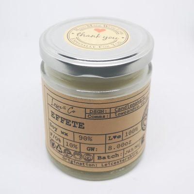 Effete Jar Candle