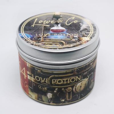 Love Potion travel candle.