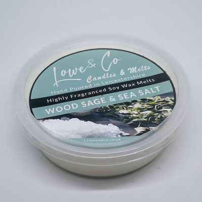 Wood Sage & Sea Salt 4oz Soy Wax Melt Pod